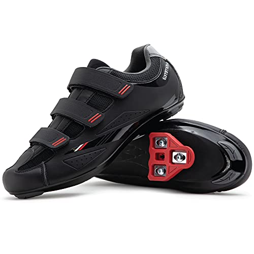 Tommaso Strada 100 Dual Cleat Compatible Indoor Cycling Class Ready Bike Shoe - Look Delta - 42
