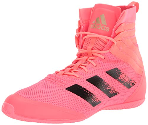 adidas Speedex 18 Boxing Shoe, Signal Pink/Black/Copper, 5.5 US Unisex Big Kid