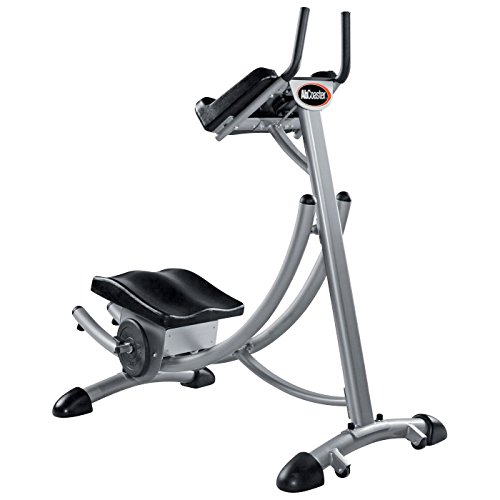 Abcoaster Max Deluxe with Weights- The Back & Neck Safe, Abdominal Fitness Machine