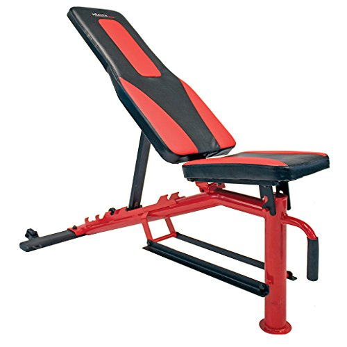 Health Gear CFB500 Deluxe Adjustable Utility Weight Workout Bench