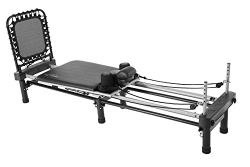 AeroPilates Premier w/Stand, Cardio Rebounder, Neck Pillow & DVDs | Access to 4 Free Guided Online Workouts Included | Stream from Any Device