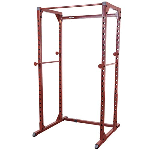 Body-Solid Best Fitness BFPR100 Adjustable Power Rack for Weightlifting and Strength Training