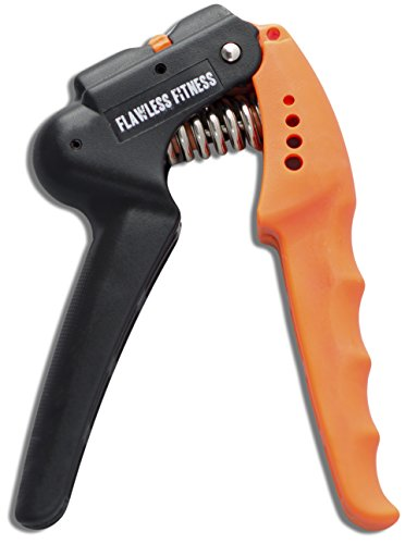 Hand Grip Strengthener - Quickly Increase Hand Wrist Finger Forearm Strength With The Best Hand Exerciser - Easy Adjustable Resistance From 22 to 70 Lbs (10-32 Kg) - Perfect for Musicians Athletes and Hand Rehabilitation Exercising