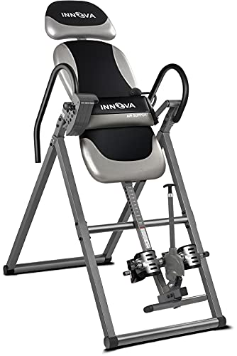 INNOVA HEALTH AND FITNESS ITX9900 Inversion Table with Air Lumbar Support