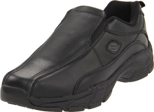 Dickies Men's Athletic Slip-On Work Shoe,Black,12 M US