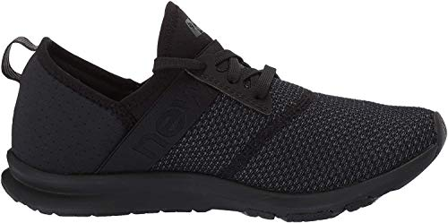 New Balance Women's FuelCore Nergize V1 Sneaker, Black/Magnet, 8.5 W US