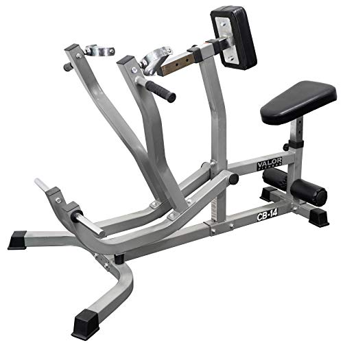 Valor Fitness CB-14 Plate Loaded Seated Row Machine/Leverage Chest Pull with Independent Arms