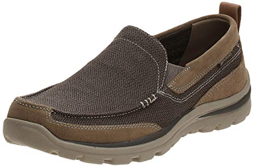 Skechers mens Relaxed Fit Superior - Milford Loafer, Light Brown, 12 US