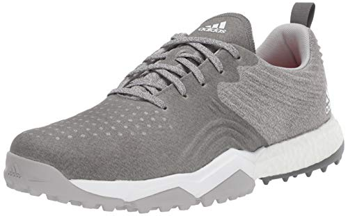 adidas Men's Adipower 4ORGED S Golf Shoe, Grey Two/Grey Four/raw Amber, 11 M US