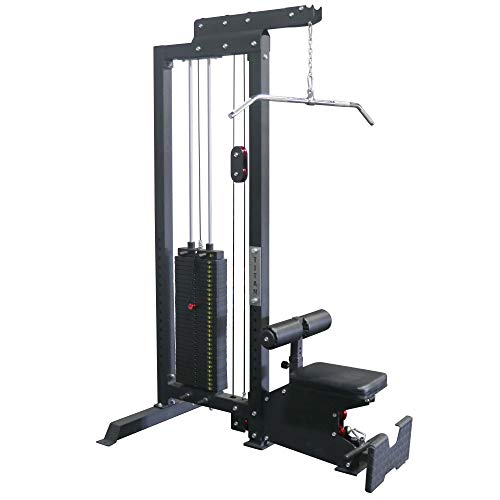 Titan Fitness LAT Tower Cable Pulley Machine 10-300 LB Selector