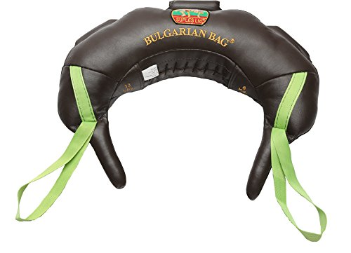 Suples Bulgarian BagSuples Original - Genuine Leather Size S (17lbs), Made, Including The Instructional Video from The Inventor Coach Ivan Ivanov (Wrestling, Fitness)