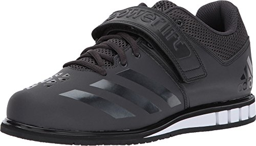 adidas Men's Powerlift.3.1 Cross-Trainer Shoes, Utility Black/White, ((14.5 M US)