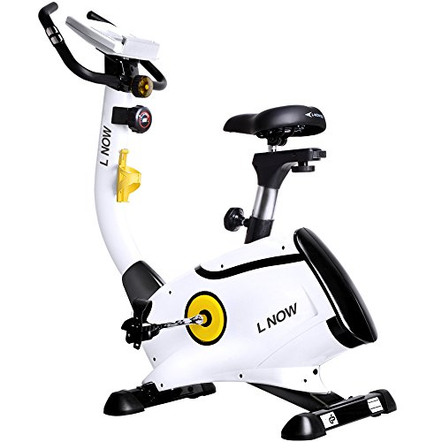 L NOW pooboo Upright Bike Magnetic Resistance Exercise Bike Indoor Stationary Bike D808