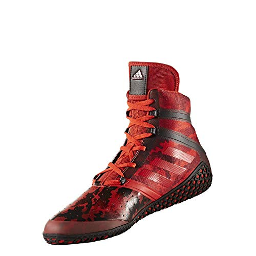 adidas Impact Men's Wrestling Shoes, Red Camo Print, Size 8.5