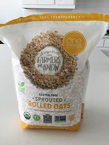 One Degree Gluten Free Sprouted Rolled Oats 5 lbs.