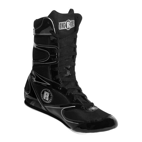 Ringside Undefeated Wrestling Boxing Shoes, 12, Black
