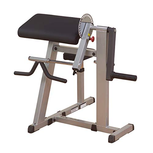 Body-Solid GCBT380 Cam Series Biceps and Triceps Machine with Adjustable Seat, Grey