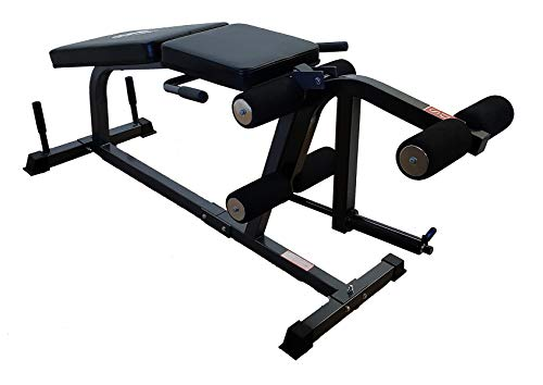 TDS Heavy Duty Leg Curl Extension Machine is Built with Deluxe Stitched Paddings. Simple to use to Build up Your Lower Body, Back Extensions and Other core Exercises.