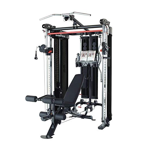 Inspire Fitness FT2 Functional Trainer and Smith Station | With Bench