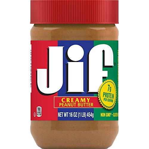 Jif Creamy Peanut Butter, 16 Ounces (Pack of 3)