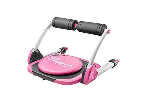 Wonder Core Twist: Core Strength Training + Weight Loss - Evolutionary Abdominal Machine - Portable - Oblique Exercises | Color (Pink) with Original Training App & Exercise Guide