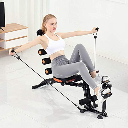 OKBOP Core & Abdominal Trainers, Multifunction Twister Trainer Ab Exercise Machine, Height Adjustable Abdominal Workout Machine, Incline Workout Equipment Ab Rocket Exerciser