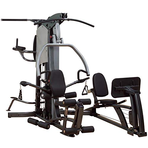 Body-Solid Fusion Home Gym with Leg Press and 310-Pound Weight Stack (F500-FLP)