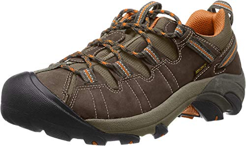 KEEN Men's Targhee II Hiking Shoe,  Bungie Cord/Burnt Orange - 10 D(M) US