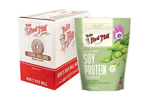 Bob's Red Mill Gluten Free Soy Protein Powder, 14-ounce (Pack of 4)