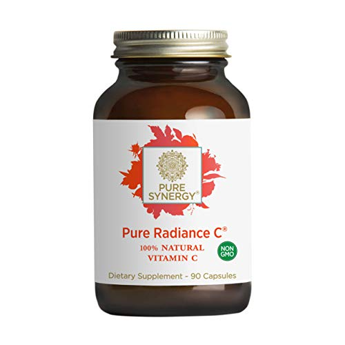 Pure Synergy Pure Radiance C (90 Capsules) 100% Natural Vitamin C from Fruits & Berries, Non-GMO