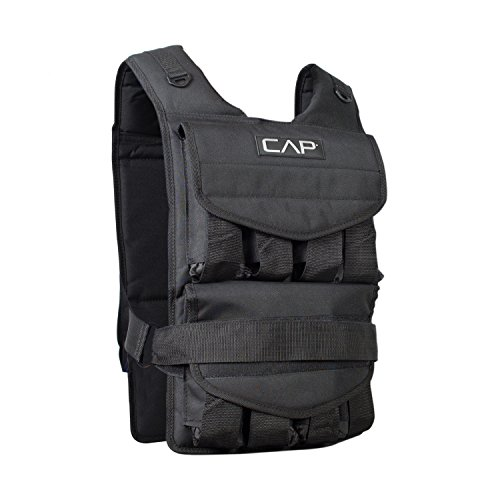 CAP Barbell Adjustable Weighted Vest, 40 lb