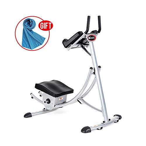 Apelila Abs Abdominal Exercise Machine Ab Crunch Coaster Body Shaper Max Core Fitness (Type 1)