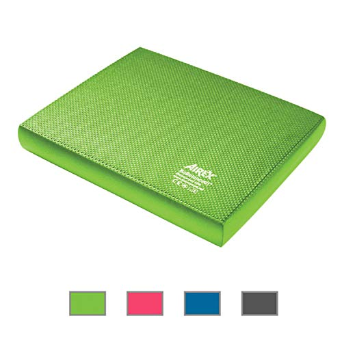 Airex Balance Pad Foam Balance Board Stability Cushion Exercise Trainer for Physical Therapy, Rehabilitation and Core Strength Training, Elite, Kiwi