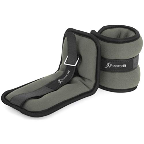 ProsourceFit Ankle Wrist Weights 2 lb. - Grey