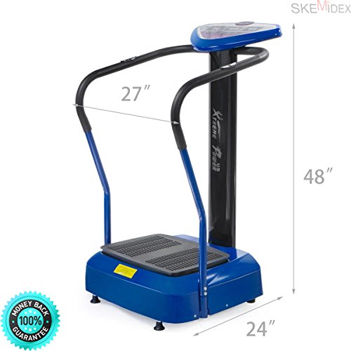 COLIBROX--Slim Full Body Vibration Platform Crazy Fit Massage Fitness Machine and Vibrating Machine for Weight Loss Vibration Exercise Machine Reviews Full Body Vibration Machine