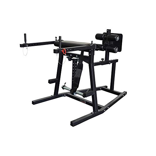 Titan Fitness Glute & Hamstring Combo H-PND Extension Machine GHD