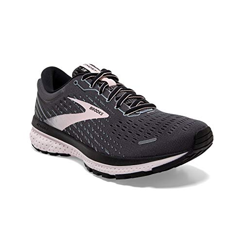 Brooks Women's Ghost 13, Black/Hushed Violet, 9 Medium