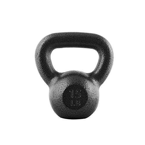 CAP Barbell Cast Iron Kettlebell, 15 Pounds