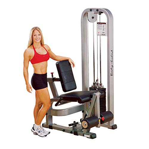 Body-Solid ProClubLine Leg Extension Machine with 210-Pound Weight Stack (SLE200G2)