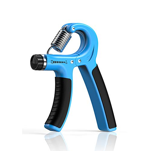 Longang Hand Grip Strengthener with Adjustable Resistance 11-132 Lbs (5-60kg), Wrist Strengthener (1 PC) (A)