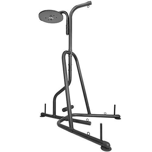 Titan Fitness Dual Station Boxing Stand for Speed & Heavy Bag