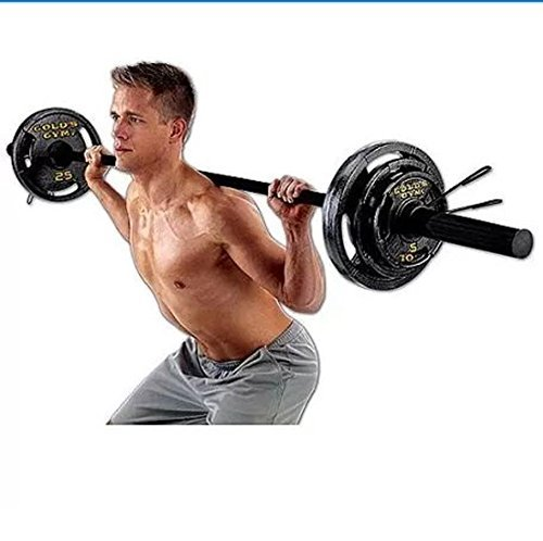 Gold's Gym Olympic Weight Set, 110 lbs