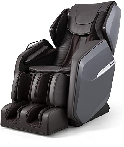 Aront Massage Chair,Zero Gravity Massage Chair Recliner with SL Track,Full Body Air Pressure Shiatsu Massage with Foot Rollers,Use for Office,Home,Bedroom