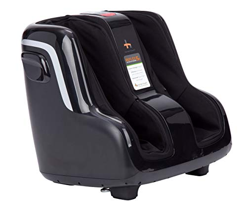Human Touch Reflex5s Foot and Calf Massager - Perfect for Relaxation and Stress Relief- Patented Technology - Extended Height, Adjustable Tilt Base