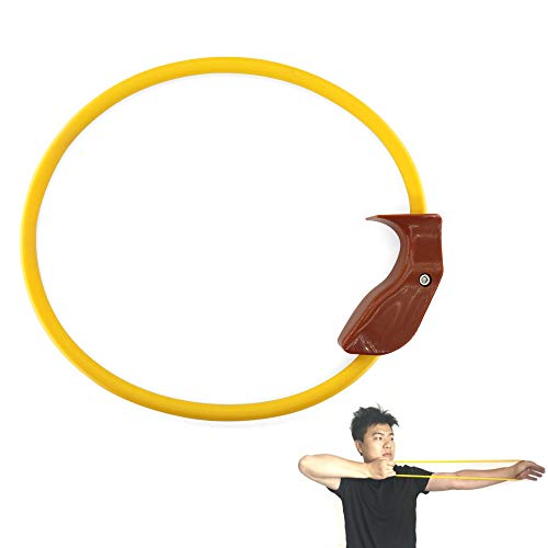 MILAEM Archery Accessory 25 Lbs Hand Extensor Exerciser Finger Strength Trainer Rubber Resistance Bands Arm Strength Training for Archery Pull Bow Workout Equipment