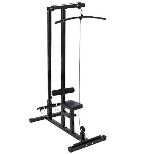 Best Choice Products 2-in-1 Low Row and Lat Pull Down Cable Machine