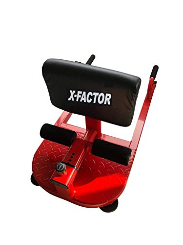 X-Factor 3 in 1 Sissy Squat Multi Function Machine Ultimate Home Gym Leg Extensions Abdominal Exercises Sit Ups Push Ups Deep Squat Workout Strength Training