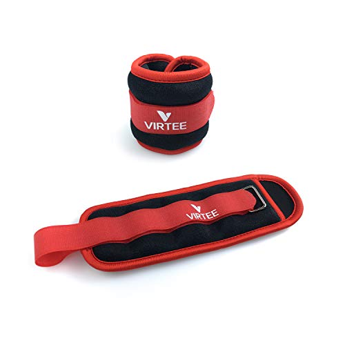 Ankle/Wrist Weights for Women, Men, Kids - Arm Leg Weights Set with Adjustable Strap - Running, Jogging, Gymnastic, Physical Therapy, Fitness - Choice of 1 lb 2 lbs 3 lbs 4 lbs 6 lbs 8 lbs 10 lbs