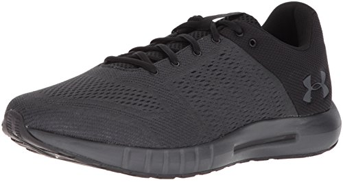 Under Armour Men's Micro G Pursuit Running Shoe, Anthracite (100)/Black, 11.5 X-Wide