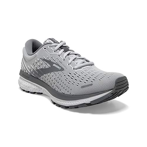 Brooks Ghost 13 Alloy/Oyster/White 8.5 B (M)